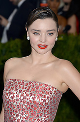 Miranda Kerr arrives on the red carpet at the Costume Institute Benefit at The Metropolitan Museum of Art celebrating the opening of Rei Kawakubo/Comme des Garcons: Art of the In-Between in New York City, NY, USA, on May 1, 2017. Photo by Dennis Van Tine/ABACAPRESS.COM