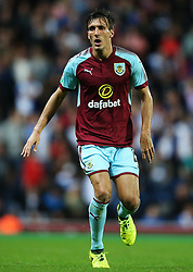 Jack Cork of Burnley - Mandatory by-line: Matt McNulty/JMP - 23/08/2017 - FOOTBALL - Ewood Park - Blackburn, England - Blackburn Rovers v Burnley - Carabao Cup - Second Round