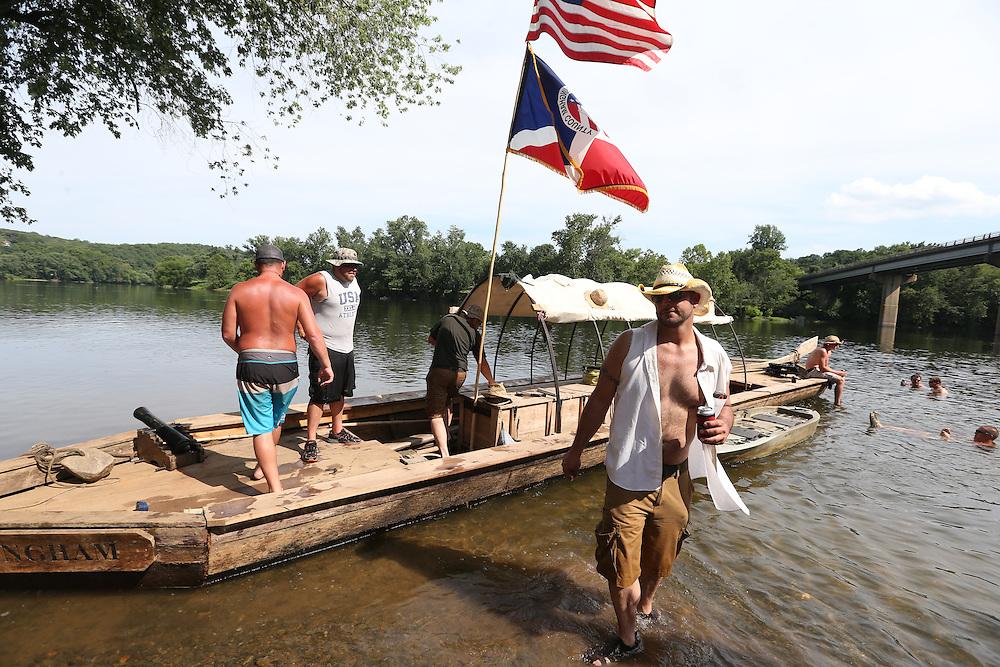 The Bateau Festival stop in Scottsville, VA. Photo/Andrew Shurtleff