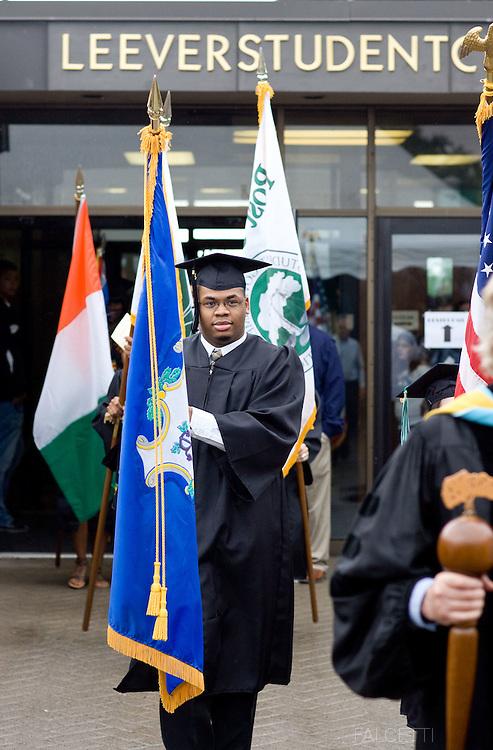 May 8, 2010: Post University Graduation, Waterbury, Connecticut.