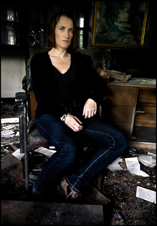 Self Portrait shot in the manner of an Old Master at West Park abandoned asylum