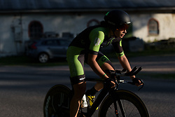 Sheyla Gutierrez at the Crescent Vargarda - a 42.5 km team time trial, starting and finishing in Vargarda on August 11, 2017, in Vastra Gotaland, Sweden. (Photo by Sean Robinson/Velofocus.com)