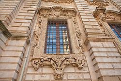 Palazzo dell' ex seminario che sorge accanto al Duomo di Lecce e si affaccia sulla stessa piazza