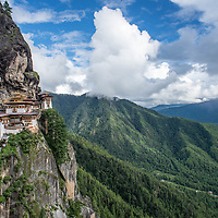 Tigers Nest, Paro, Bhutan <br /> <br /> Full photoessay at http://xpatmatt.com/photos/bhutan-photos/