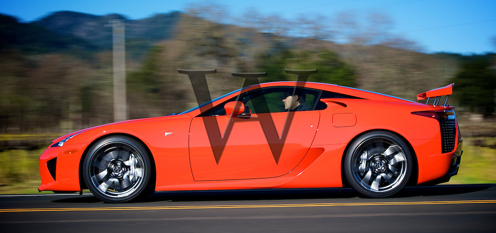 Lexus LFA Calistoga Ranch