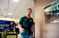 18/08/15<br /> CELTIC PARK - GLASGOW<br /> Celtic manager Ronny Deila speaks to the press ahead of his side's clash with Malmo.