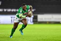 Cherif Traore of Benetton Treviso<br /> <br /> Photographer Craig Thomas/Replay Images<br /> <br /> Guinness PRO14 Round 4 - Ospreys v Benetton Treviso - Saturday 22nd September 2018 - Liberty Stadium - Swansea<br /> <br /> World Copyright © Replay Images . All rights reserved. info@replayimages.co.uk - http://replayimages.co.uk