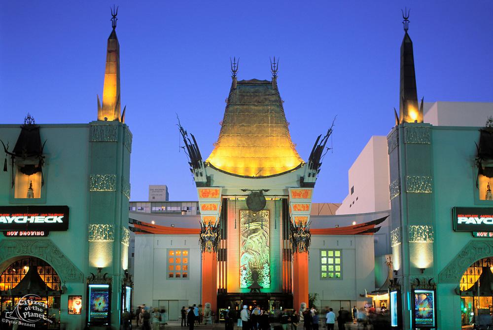 Grauman's Chinese Theatre, Hollywood Boulevard, Los Angeles, California (LA)