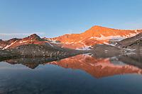 Cirque Lake, David O. Lee Peak, Cecil D. Andrus-White Clouds Wilderness Idaho