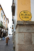 Evora, the capital city of Alentejo province in Portugal.