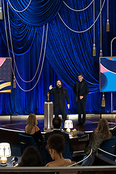 Michael Govier and Will McCormack accept the Oscar® for Animated Short Film during the live ABC Telecast of The 93rd Oscars® at Union Station in Los Angeles, CA, USA on Sunday, April 25, 2021. Photo by Todd Wawrychuk/A.M.P.A.S. via ABACAPRESS.COM
