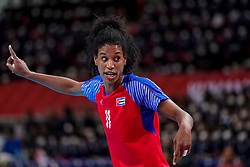 05-12-2019 JAP: Cuba - Slovenia, Kumamoto<br /> Fourth match groep A at 24th IHF Women's Handball World Championship. Slovenia win 39 - 26 of Cuba / Yunisleidy Camejo Rodriguez #11 of Cuba