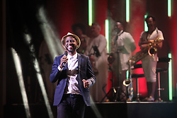 08/09/2018<br />Comedian David Kau receives The Comedy G Award  at the 2018 Savanna Comics Choice Awards, Lyric Theatre Goldreef City, Johannesburg.<br />Picture: Nhlanhla Phillips/African News Agency/ANA