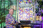 HILVERSUM, 13-12-2020 , Studio 538<br /> <br /> Vandaag start radio 538 met 'Missie 538' voor de voedselbank. Van 14 tot en met 18 december zetten de dj's van 538 alles op alles om zoveel mogelijk mensen te helpen. <br /> <br /> Op de foto:  Voorzitter Voedselbank Nederland Leo Wijnbelt