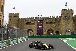 April 27, 2018 - Baku, Azerbaijan - Motorsports: World Championship; 2018; Grand Prix Azerbaijan, Grand Prix of Europe, Formula 1 2018 Azerbaijan Grand Prix, .#27 Nico Hülkenberg (Renault Sport F1 Team) (Credit Image: © Hoch Zwei via ZUMA Wire)