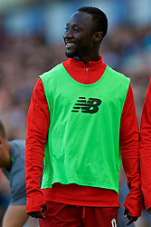 BLACKBURN, ENGLAND - Thursday, July 19, 2018: Liverpool's substitute Naby Keita during a preseason friendly match between Blackburn Rovers FC and Liverpool FC at Ewood Park. (Pic by David Rawcliffe/Propaganda)