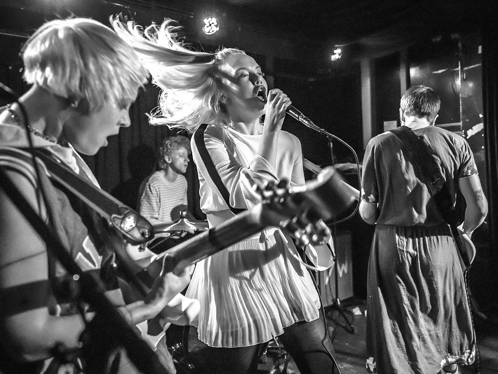 British-Icelandic punk-rock band Dream Wife at Blue Shell
