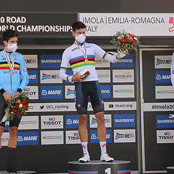 25-09-2020: wielrennen: WK tijdrit mannen: Imola<br />