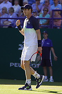 Andy Murray (GBR)  at the Nature Valley International at Devonshire Park, Eastbourne, United Kingdom on 27th June 2018. Picture by Jonathan Dunville.