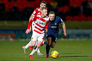 Doncaster Rovers midfielder Ali Crawford (11) in action  during the EFL Sky Bet League 1 match between Doncaster Rovers and Southend United at the Keepmoat Stadium, Doncaster, England on 12 February 2019.