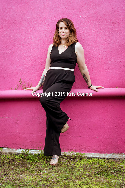 """Portraits of fellow photographers during """"Long Island Photographer Headshot Meetup,"""" in Huntington, NY on April 25th, 2019. Photo by Kris Connor"""