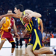 Fenerbahce Ulker's Emir PRELDZIC during their Turkish Basketball league Play Off Final fourth leg match Galatasaray between Fenerbahce Ulker at the Abdi Ipekci Arena in Istanbul Turkey on Saturday 11 June 2011. Photo by TURKPIX