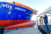 Koningin Maxima doopt de Vox Amalia