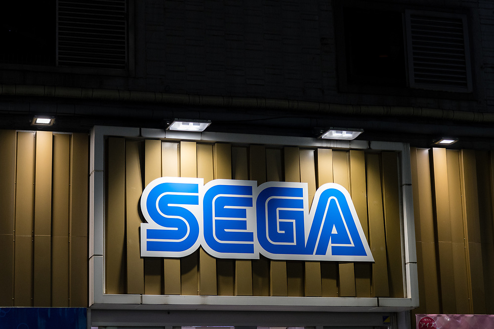 Sega sign.