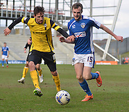 Oldham Athletic v Barnsley 140315