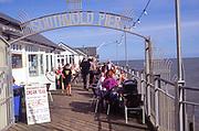 AMFY07 Southwold pier entrance Suffolk England
