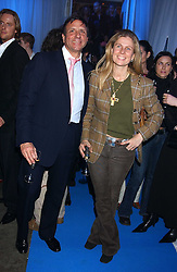 The HON.SIR ROCCO & LADY FORTE  at a VIP party to celebrate the launch of the new Fiat Punto held at the Truman Brewery 91 Brick Lane, Loncon on 19th January 2006.<br />