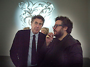 BRYAN FERRY; HALUK AKAKCE; , Haluk Akakce; Coming Home. Exhibition of work at the Alison Jacques Gallery. 29 April 2010. *** Local Caption *** -DO NOT ARCHIVE-© Copyright Photograph by Dafydd Jones. 248 Clapham Rd. London SW9 0PZ. Tel 0207 820 0771. www.dafjones.com.<br /> BRYAN FERRY; HALUK AKAKCE; , Haluk Akakce; Coming Home. Exhibition of work at the Alison Jacques Gallery. 29 April 2010.