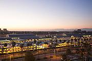 John Wayne Airport at Dusk