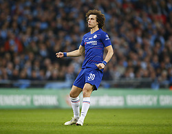 February 24, 2019 - London, England, United Kingdom - Chelsea's David Luiz.during during Carabao Cup Final between Chelsea and Manchester City at Wembley stadium , London, England on 24 Feb 2019. (Credit Image: © Action Foto Sport/NurPhoto via ZUMA Press)