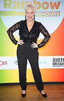 Denise Welch at  the Rainbow Honours Awards, at Madame Tussauds, London. 04.12.19