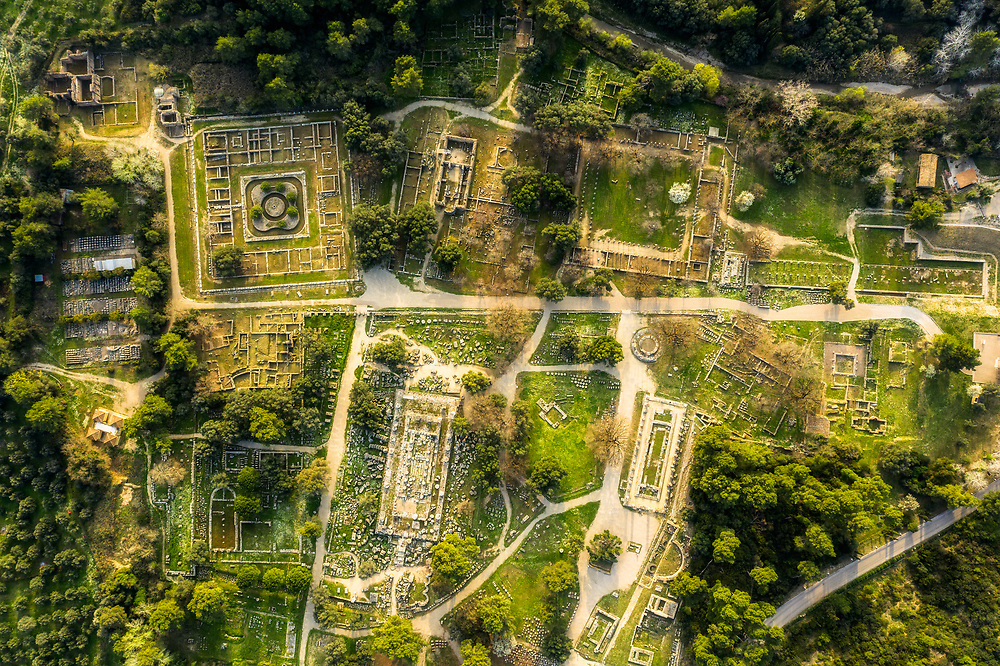 Archaeological Site of Olympia i n Greece