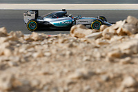 HAMILTON lewis (gbr) mercedes gp mgp w06 action during 2015 Formula 1 FIA world championship, Bahrain Grand Prix, at Sakhir from April 16 to 19th. Photo Florent Gooden / DPPI