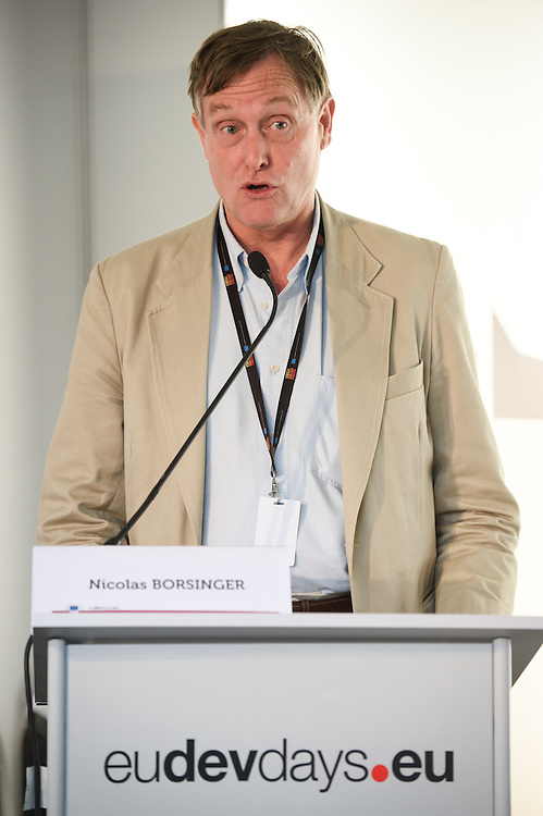 03 June 2015 - Belgium - Brussels - European Development Days - EDD - Climate - Disaster risk reduction , resilience , climate change adaptation - Connecting the dots - Nicolas Borsinger , President © European Union