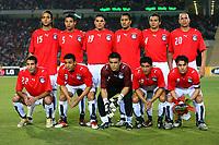 Egypt Team Group 2005/06<br />25th MTN Africa Cup Of Nations Egypt 2006<br />Egypt Libya 20/01/06<br />Photo Robin Parker Fotosports International