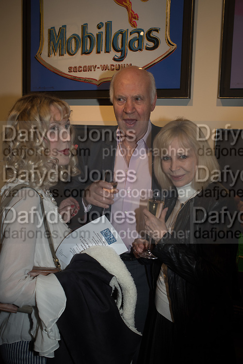 BASIA BRIGGS; MICHAEL COCKERELL;, The launch of The City of Westminster: A Celebration of People,  published by Quartet in collaboration with the Sir Simon Milton Foundation. Hosted by Robert Davis MBE and Naim Attallah CBE, Halcyon Gallery. London. 20 March 2017.