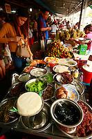 street food market, Phnom Penh, Cambodia
