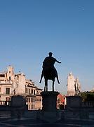 Statue of Marcus Aurelius, Capitoline Museum, Rome, Italy