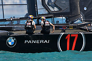Challengers Oracle Team USA skippered by Jimmy Spithill during the 35th America's Cup 2017, Day 4, on June 25, 2017 in Hamilton, Bermuda - Photo Christophe Favreau / ProSportsImages / DPPI