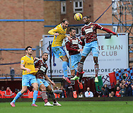 Crystal Palace's Glenn Murray scoring the opening goal<br /> <br /> Barclays Premier League - West Ham United  vs Crystal Palace  - Upton Park - England - 28th February 2015 - Picture David Klein/Sportimage