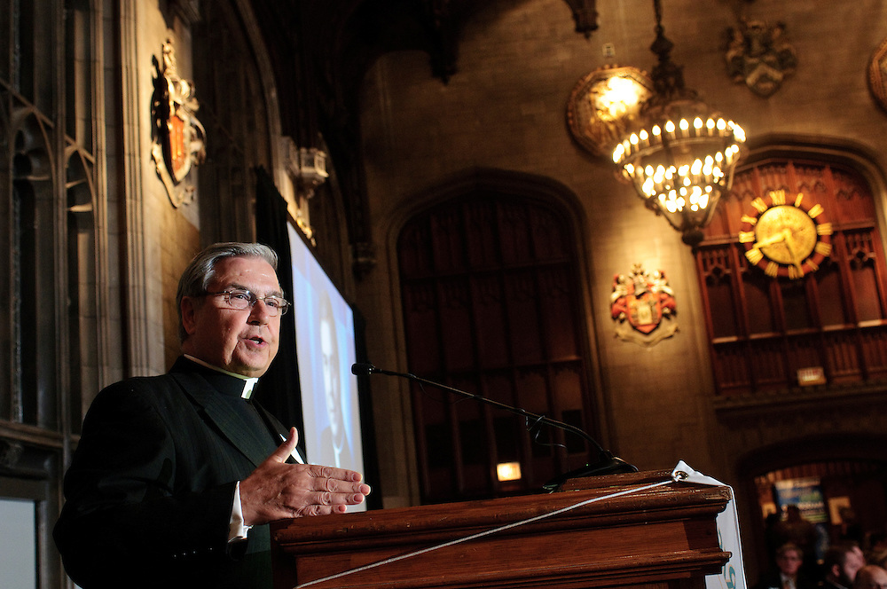 Relevant Radio hosts the second annual Christ Brings Hope award dinner at the University Club of Chicago, Thursday, October 11. The 2012 award recipient is Reverend Robert Barron, Rector of the University of St. Mary of the Lake Mundelein Seminary, founder of WordOnFire.org and host of Catholicism, a 10 part television documentary exploring the art, architecture, music and history of the faith. © 2012 Brian J. Morowczynski ViaPhotos