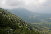 The view near the top of Fort Mountain State Park, part of the Chattahoochee National Forest, Georgia.
