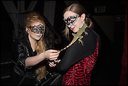 PERSIA O'HARA; CHERYL GARDINER, The Dark Side of Love, Valentine's Masked Ball. the Coronet Theatre, Elephant and Castle. London. 13 February 2015.