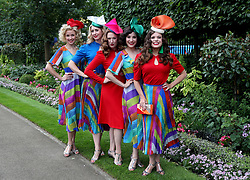 The Tootsie Rollers during day one of Royal Ascot at Ascot Racecourse.