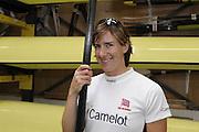 Caversham, Great Britain, Katherine GRAINGER, GB Rowing media day at the Redgrave Pinsent Rowing Lake. GB Rowing Training centre. Tue. 29.04.2008  [Mandatory Credit. Peter Spurrier/Intersport Images] Rowing course: GB Rowing Training Complex, Redgrave Pinsent Lake, Caversham, Reading