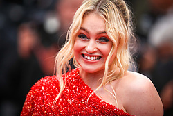 """Iskra Lawrence attends the screening of """"Les Plus Belles Annees D'Une Vie"""" during the 72nd annual Cannes Film Festival on May 18, 2019 in Cannes, France. Photo by Shootpix/ABACAPRESS.COM"""